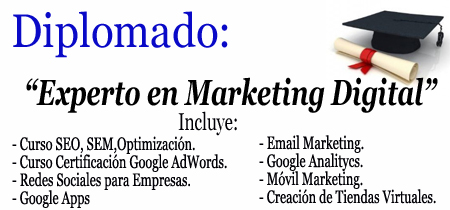 Cursos de Google, Cursos y Diplomados de Marketing en Google